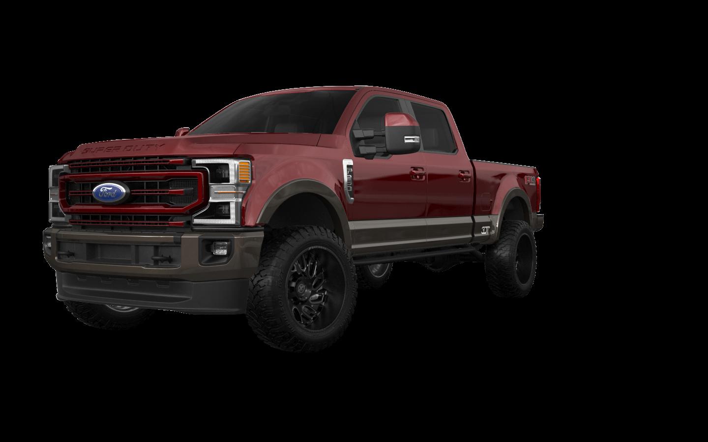 Ford F-250 4 Door pickup truck 2021 tuning