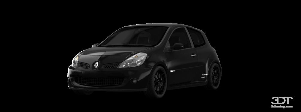 Renault Clio 3 Door Hatchback 2008 tuning