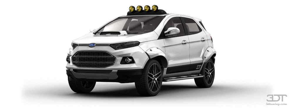 3dtuning Of Ford Ecosport Suv 2014 3dtuning Com Unique