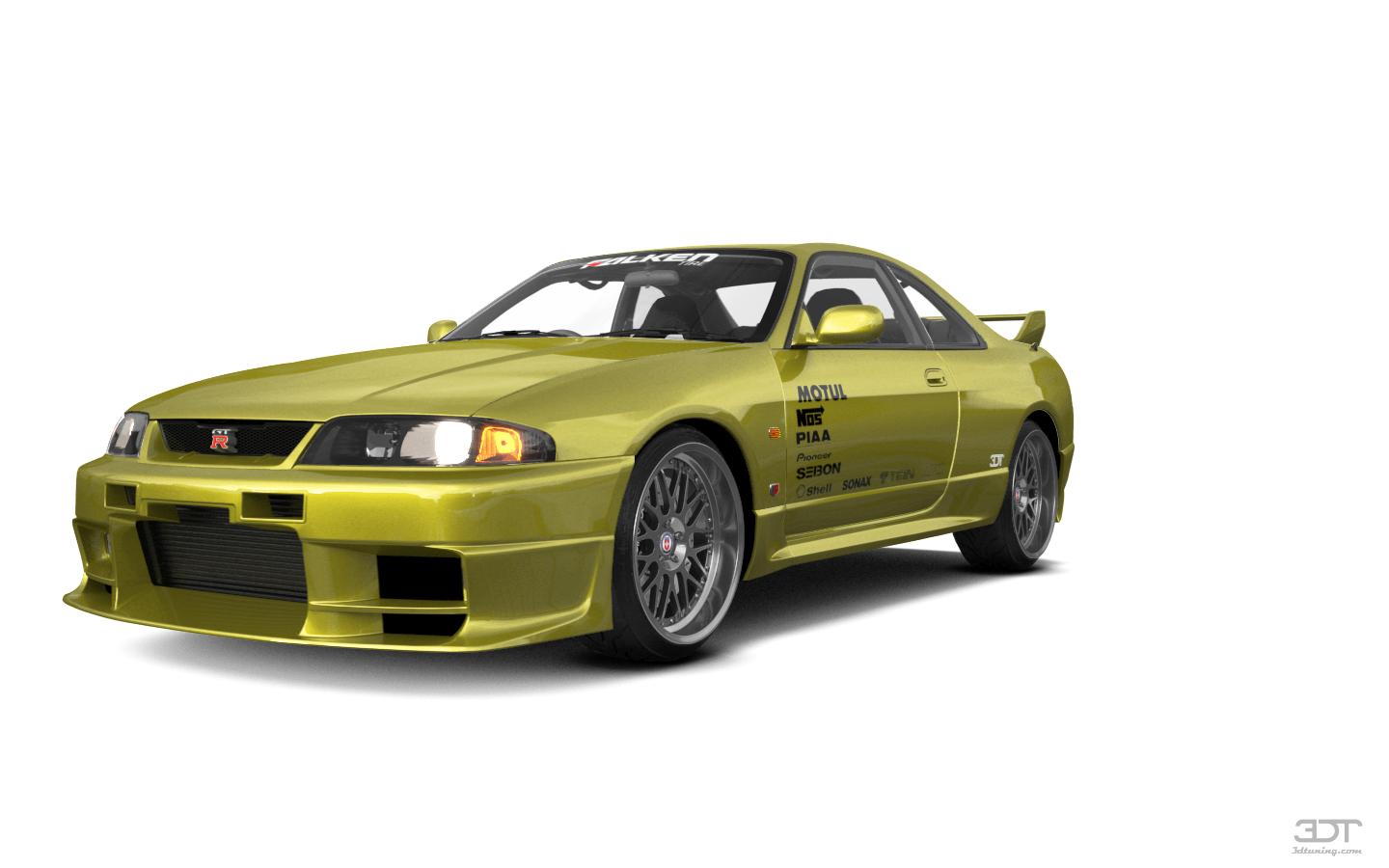 Nissan Skyline GT-R 2 Door Coupe 1995 tuning