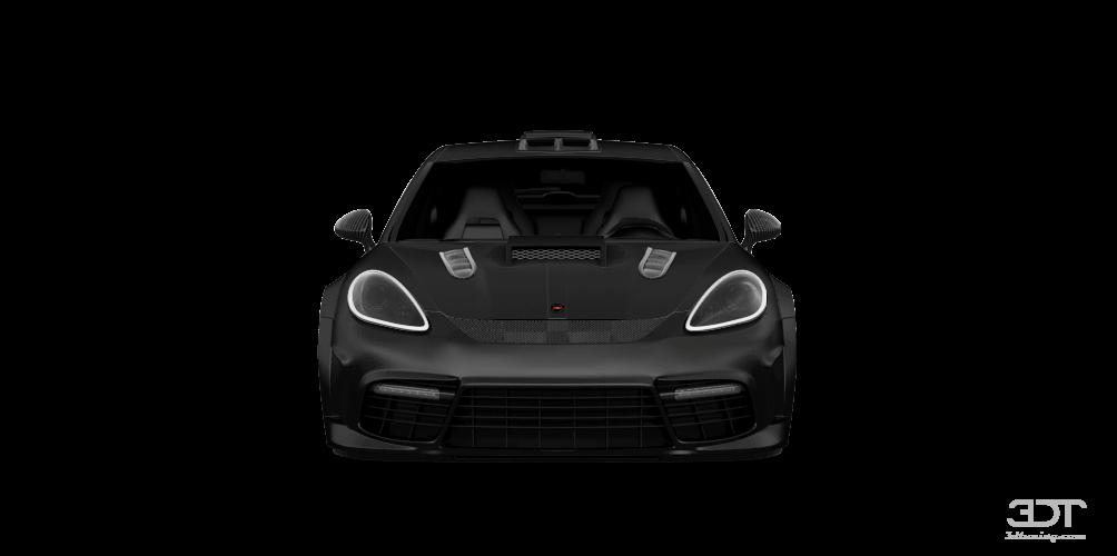 Porsche Panamera 4-door fastback saloon 2012