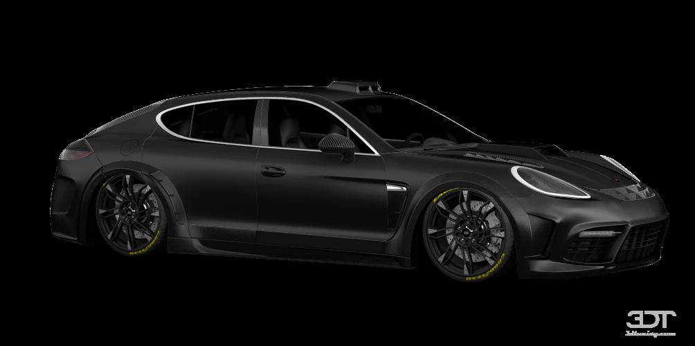 Porsche Panamera 4-door fastback saloon 2012 tuning