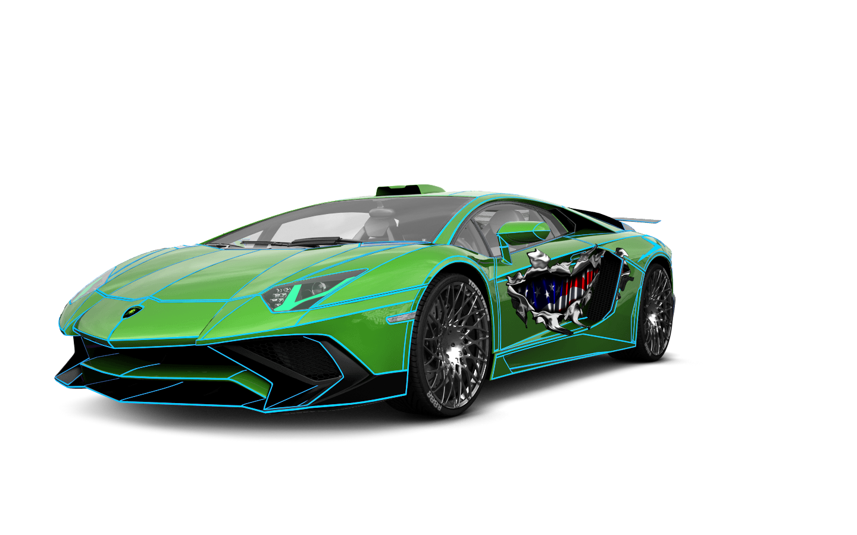 Lamborghini Aventador 2 Door Coupe 2012 tuning