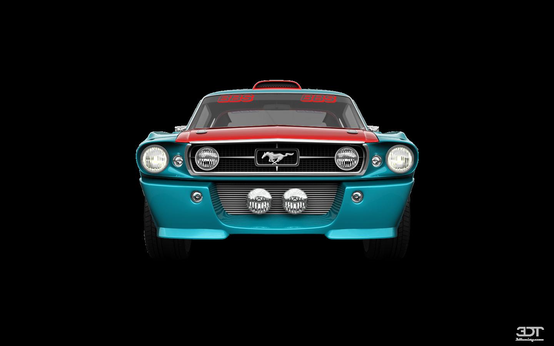 Mustang Shelby GT500 2 Door Coupe 1968