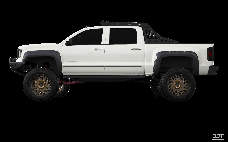GMC Sierra 4 Door pickup truck 2014 tuning