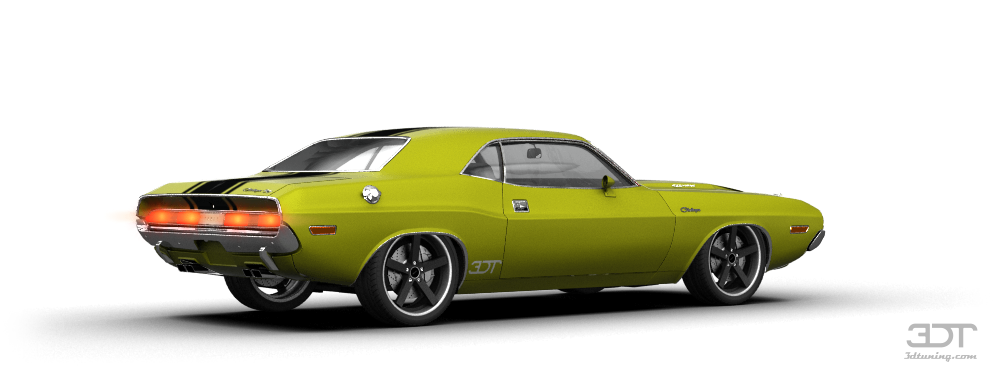 3dtuning Of Dodge Challenger Coupe 1970 3dtuning Com