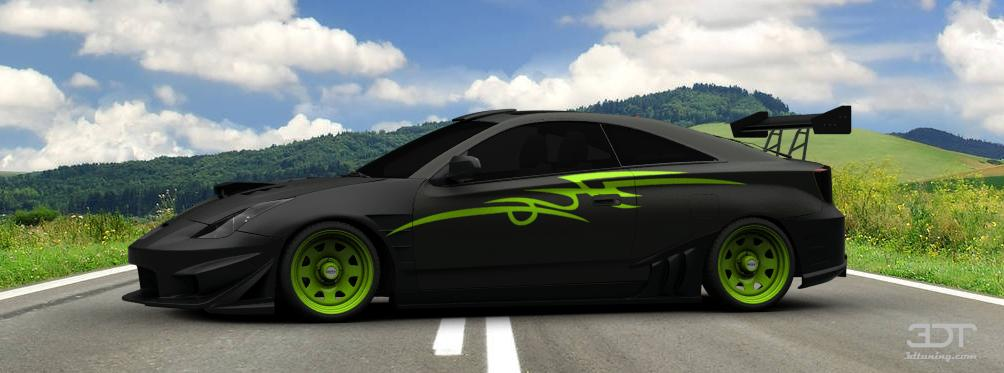3dtuning Of Toyota Celica Coupe 2005 3dtuning Com Unique