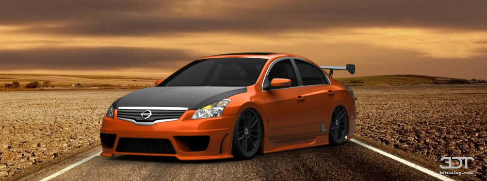 Nissan Used Parts 3DTuning of Nissan Altima sedan 2007 3DTuning.com - unique ...