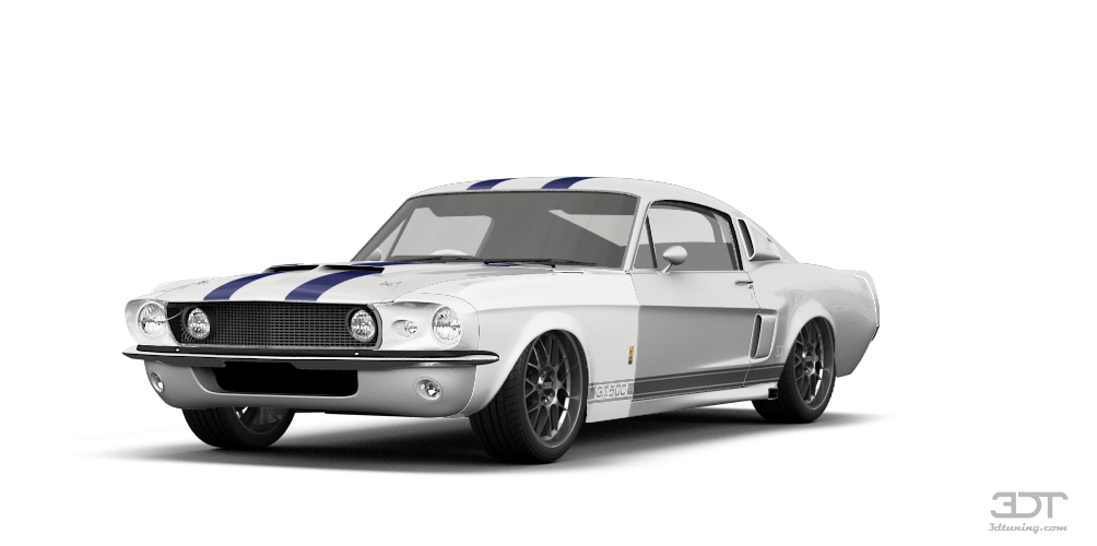 Mustang Shelby GT500 Coupe 1967 tuning