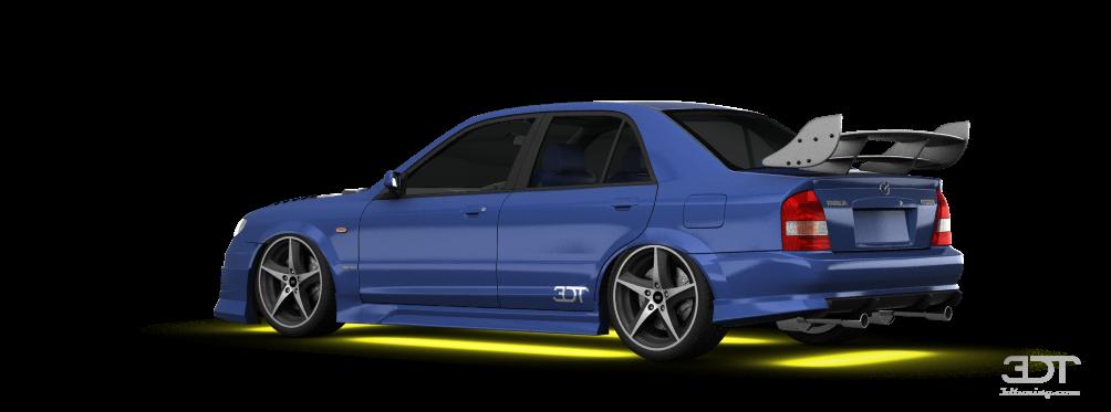 Mazda Familia sedan 2001 tuning