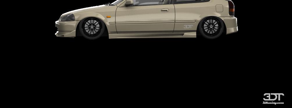Honda Civic Type-R'97 by Brennan Yarbrough