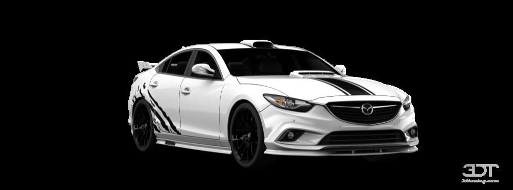 3DTuning of Mazda 6 Sedan 2014 3DTuning.com - unique on ...