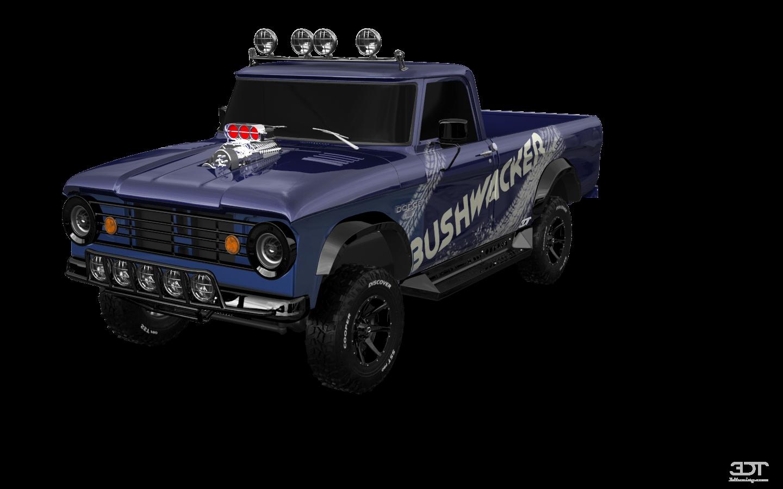 Dodge Power Wagon W200'66