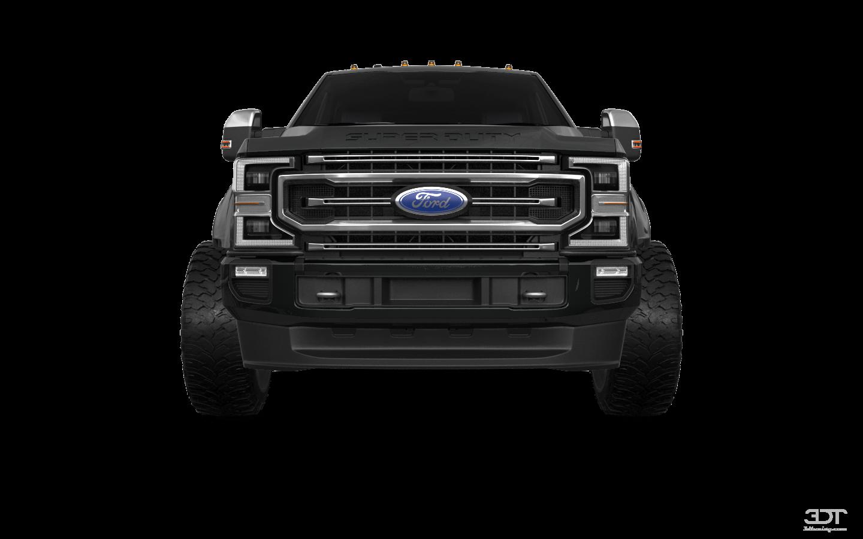 Ford F-250 4 Door pickup truck 2021
