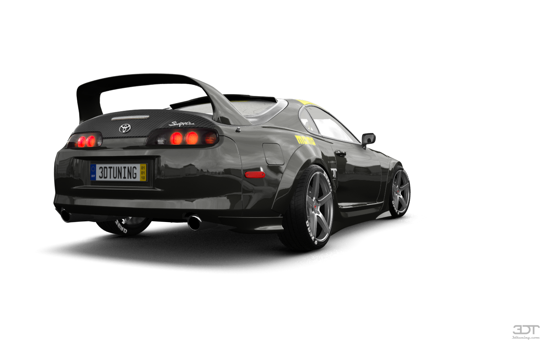 Toyota Supra Custom Paint Job