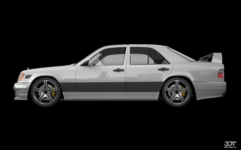 Mercedes E-Class Sedan 1984 tuning