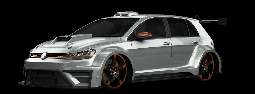 Volkswagen Golf 7 5 Door Hatchback 2014 tuning