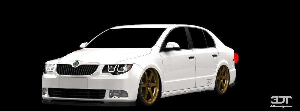 Skoda Superb Sedan 2009 tuning