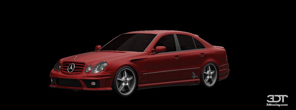 Mercedes E class Sedan 2003 tuning
