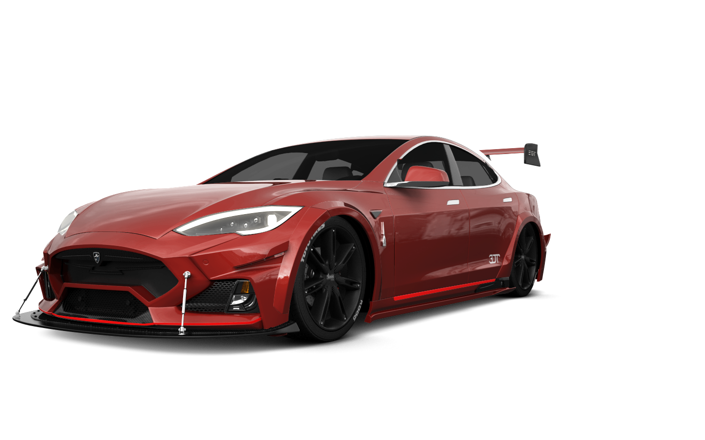 Tesla Model S 5 Door Liftback 2013 tuning