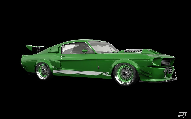 Mustang GT500'68
