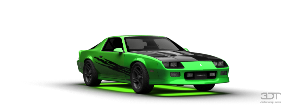 3dtuning of chevrolet camaro iroc z coupe 1985 3dtuning
