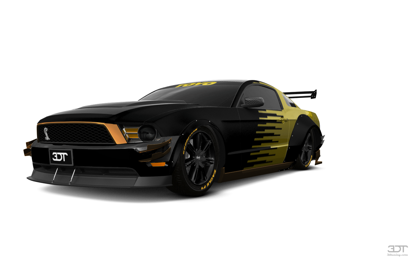 Ford Mustang 2 Door Coupe 2012 tuning