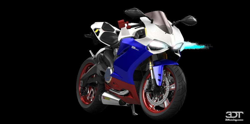Ducati 899 Panigale Tuning – Idea di immagine del motociclo