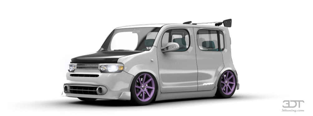 3dtuning of nissan cube van 2010 3dtuning     unique on