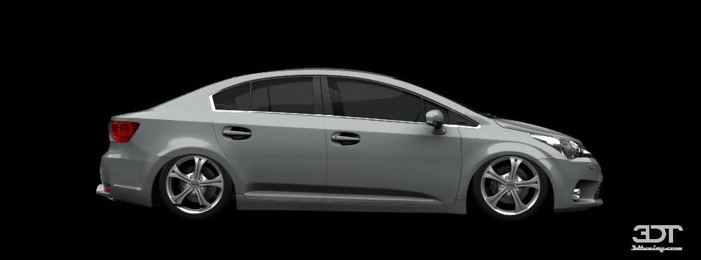 3dtuning Of Toyota Avensis Sedan 2012 3dtuning Com