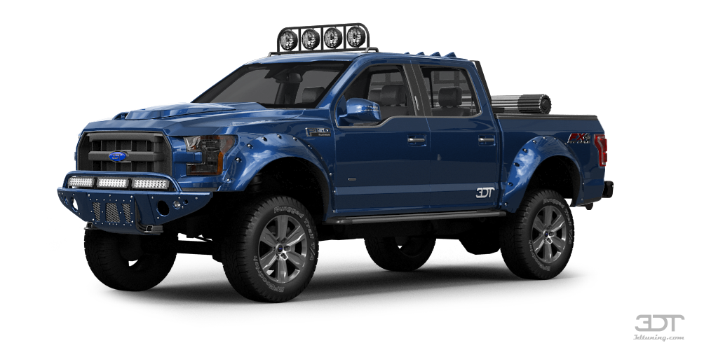 Ford F-150 CrewCab Truck 2015 tuning