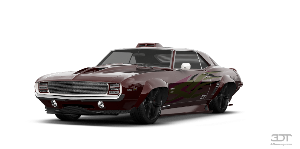 Chevrolet Camaro SS Coupe 1969 tuning