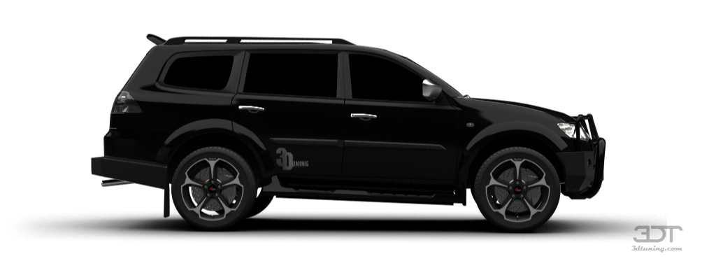 3DTuning of Mitsubishi Pajero Sport SUV 2009 3DTuning.com - unique on-line car configurator for ...