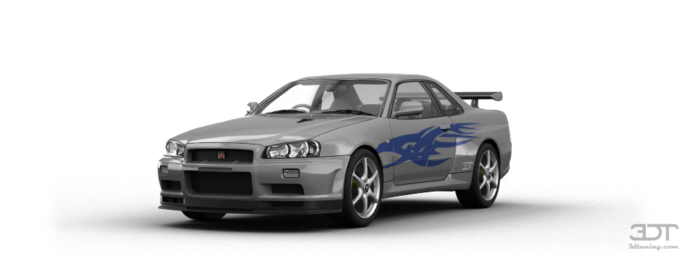 3dtuning Of Nissan Skyline Gt R Coupe 2002 3dtuning Com