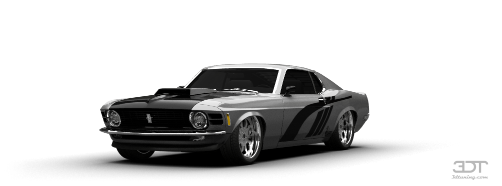 Cl Mustang >> Тюнинг Mustang Boss 429 Coupe 1969, фото тюнинга Мустанг Босс 429