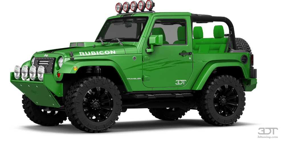 Jeep Wrangler Rubicon Convertible 2113 tuning