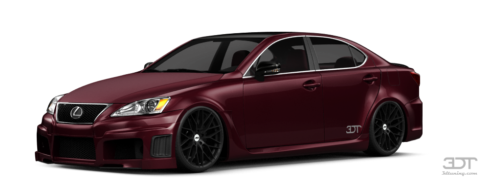 Lexus IS Sedan 2012 tuning