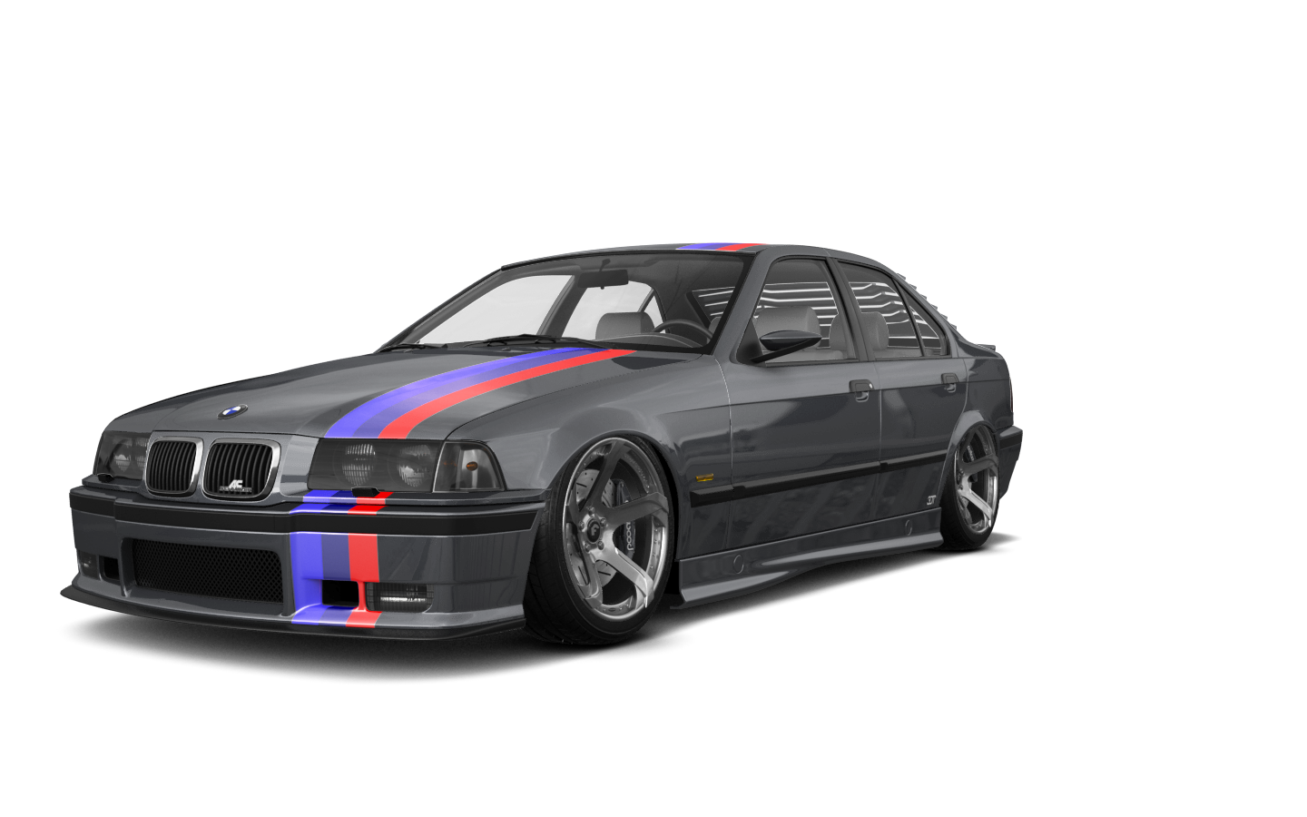 BMW 3 Series 4 Door Saloon 1990 tuning