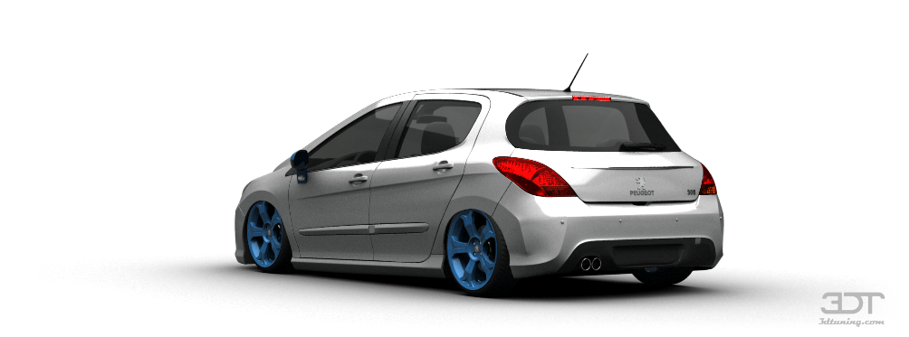 3DTuning of Peugeot 308 5 Door Hatchback 2012 3DTuning.com - unique on-line car configurator for ...