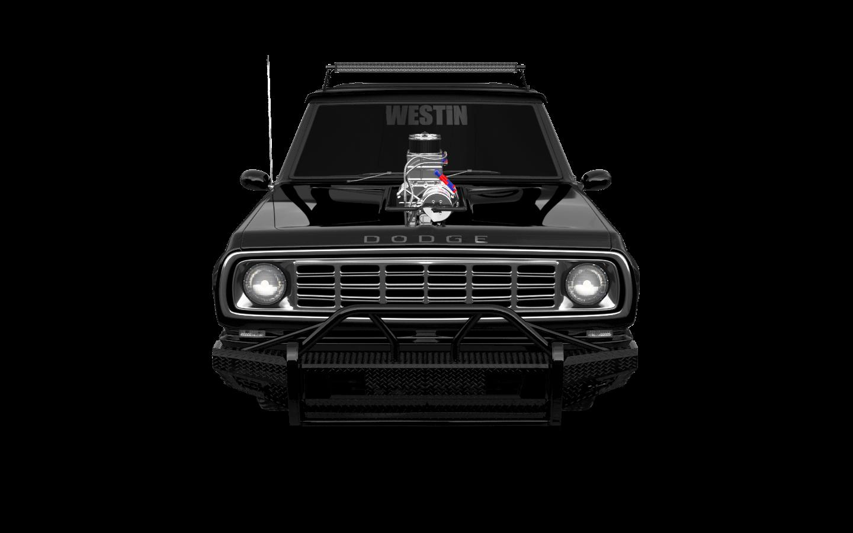 Dodge Power Wagon W200 2 Door pickup truck 1972 tuning