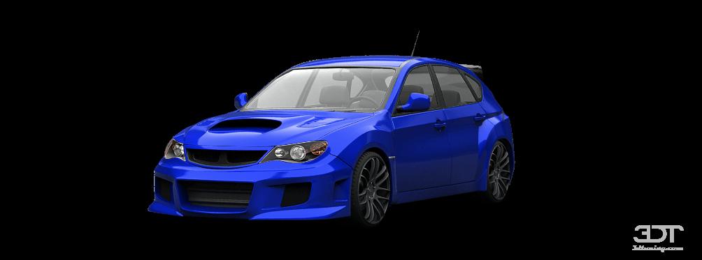 3dtuning Of Subaru Impreza 5 Door Hatchback 2007 3dtuning