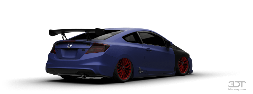 3dtuning Of Honda Civic Si Coupe 2012 3dtuning Com