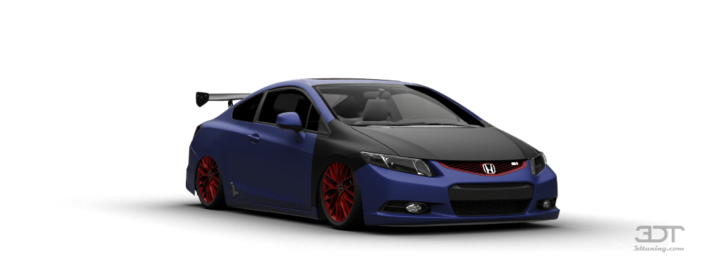 3DTuning of Honda Civic Si Coupe 2012 3DTuningcom  unique on