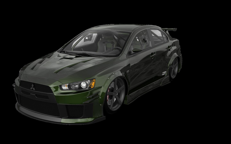 Mitsubishi Lancer Evolution X'08