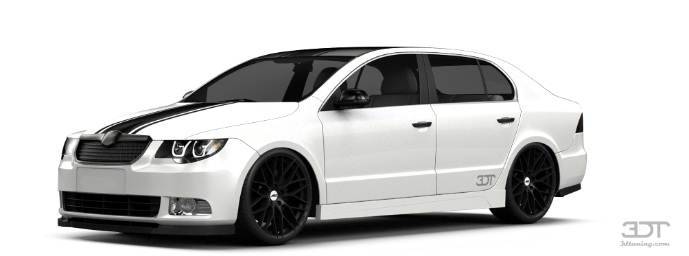 Skoda Superb Sedan 2009 tuning