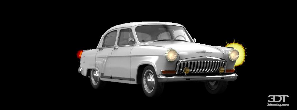 GAZ 21 Volga'62