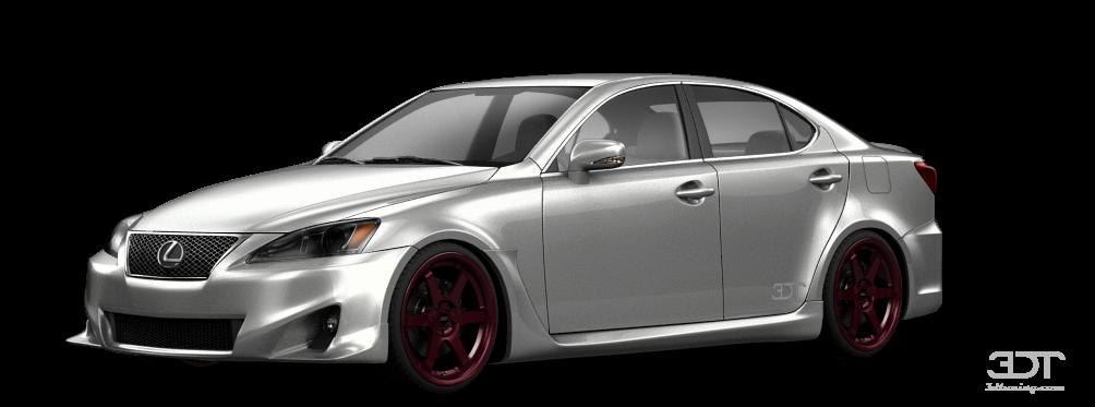 Lexus IS Sedan 2012 tuning