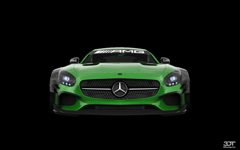 Mercedes AMG GT 2 door fastback coupe 2016