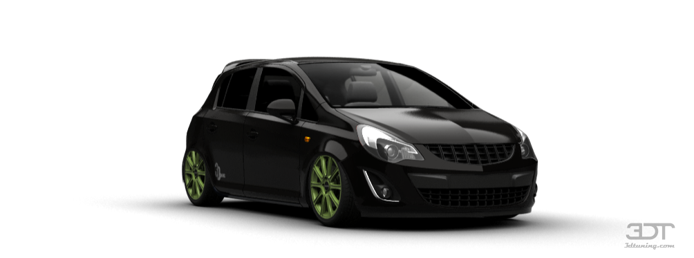3dtuning Of Opel Corsa D Facelift 5 Door Hatchback 2010