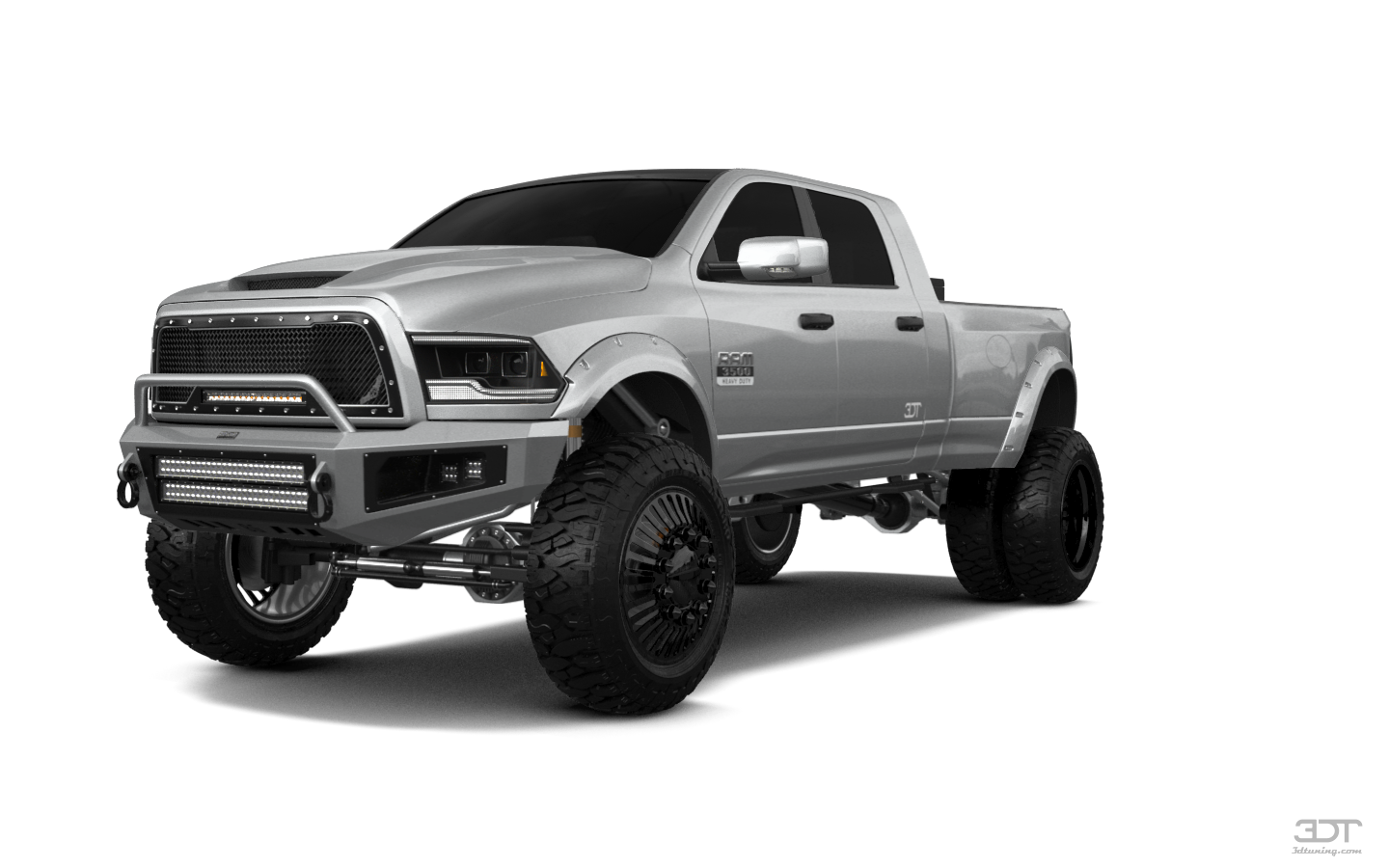 Dodge Ram 3500 4 Door Truck 2014 tuning